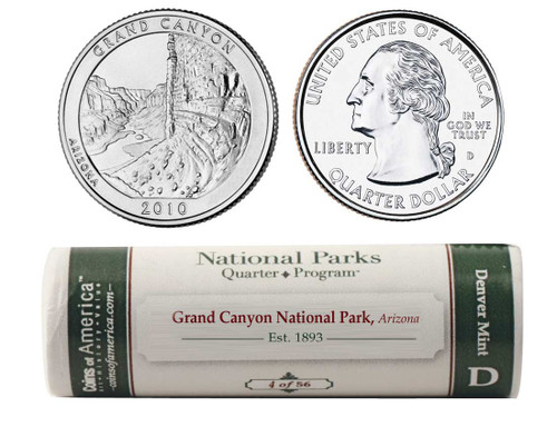 Grand Canyon D Mint Quarter Roll