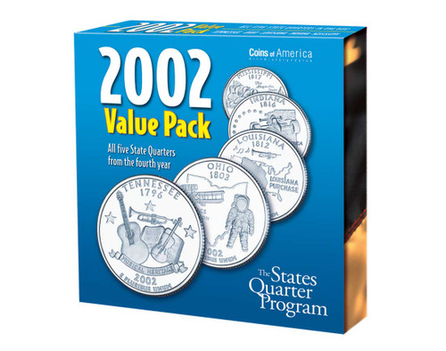 2002 Quarter Collection Annual Pack