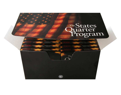 State Quarter Collector Box