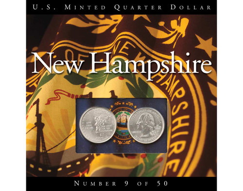 New Hampshire Quarter Collection