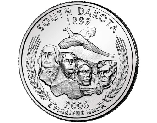 2006 South Dakota Quarter D Mint