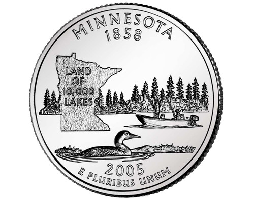 2005 Minnesota Quarter D Mint