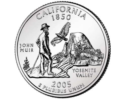 2005 California Quarter D Mint