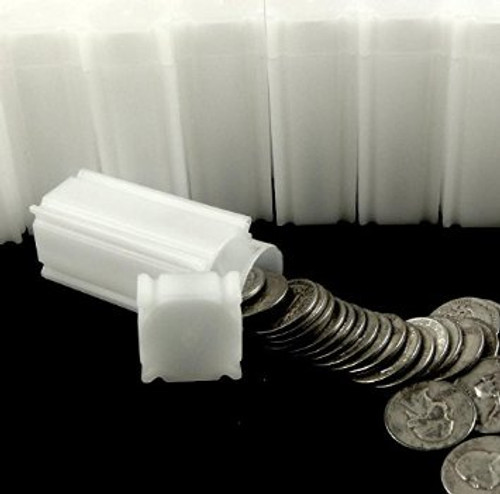 Square Quarter Coin Tube