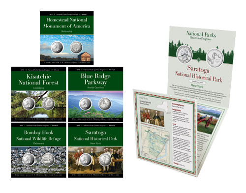2015 National Park Quarter Annual Pack