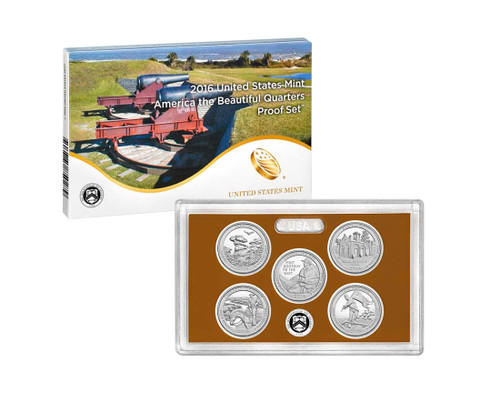 2016 Quarter Proof Set