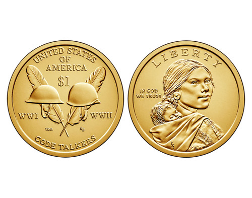 2016 Native American D Mint Dollar