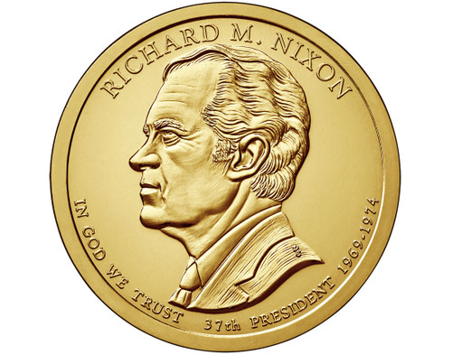 Richard M. Nixon $1 P Mint Single Coin