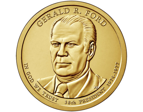 Gerald R. Ford $1 P Mint Single Coin