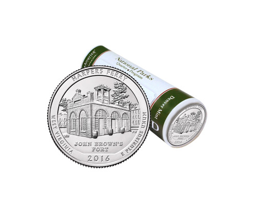 Harpers Ferry National Historical Park D Mint Quarter Roll
