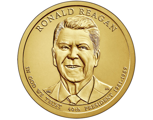 Ronald Reagan $1 P Mint Single Coin