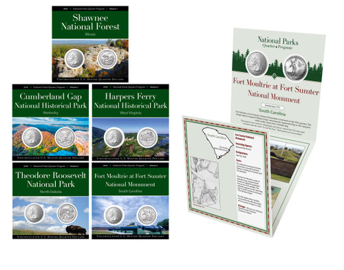 2016 National Park Quarter Annual Pack
