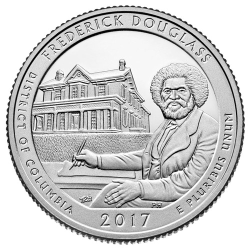 Frederick Douglass National Historical Site Quarter D Mint