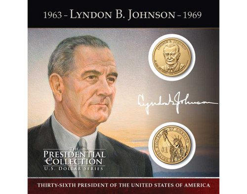 Lyndon B. Johnson $1 Coin Collection