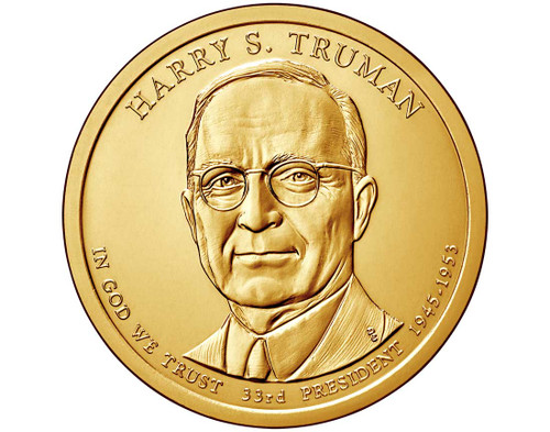 Harry S. Truman $1 P Mint Single Coin