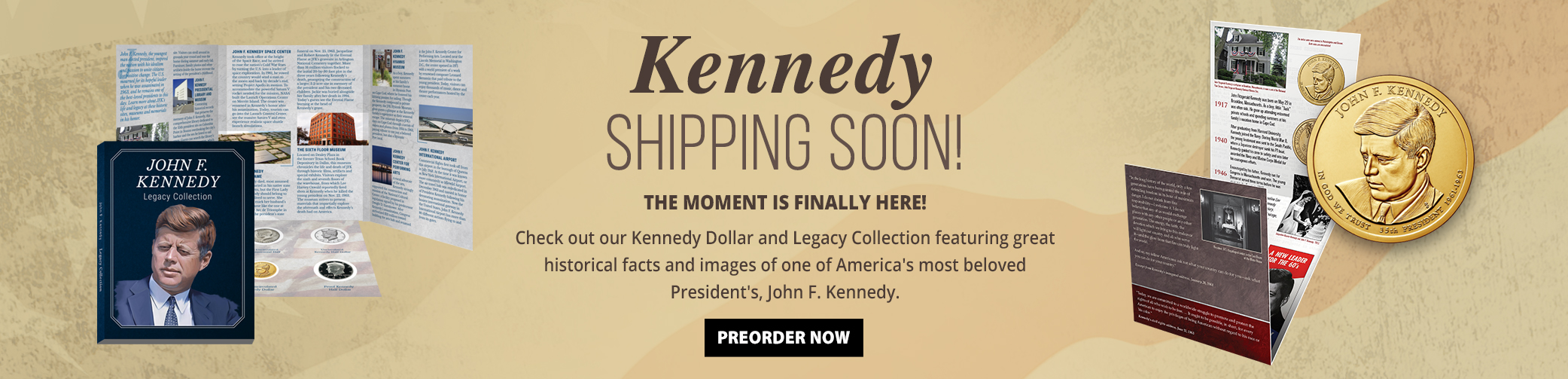 John Kennedy Dollar and Legacy Collection