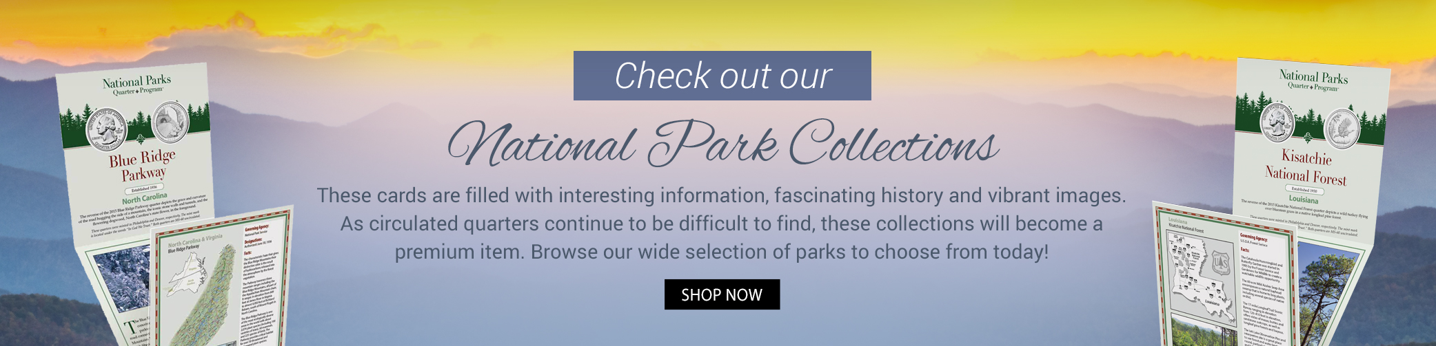 National Park Quarter Collections