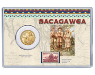 Sacagawea Coin & Stamp Collection