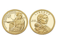 2014 Native American D Mint Dollar