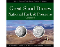 Great Sand Dunes National Park Quarter Collection