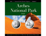 Arches National Park Quarter Collection