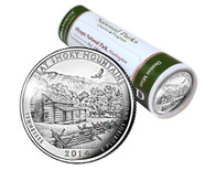 Great Smoky Mountains National Park D Mint Quarter Roll