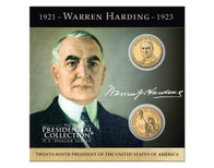 Warren G. Harding $1 Coin Collection