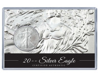 2015 Silver Eagle Acrylic Display