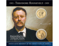 Theodore Roosevelt $1 Coin Collection
