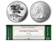 Great Basin National Park D Mint Quarter Roll