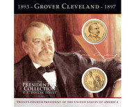 Grover Cleveland $1 Coin Collection - 24th Presidency