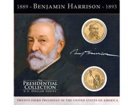 Benjamin Harrison $1 Coin Collection