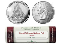 Hawai'i Volcanoes National Park P Mint Quarter Roll