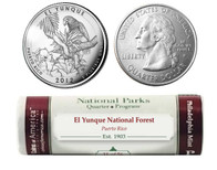 El Yunque National Forest P Mint Quarter Roll