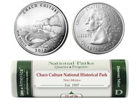 Chaco Culture National Historical Park D Mint Quarter Roll