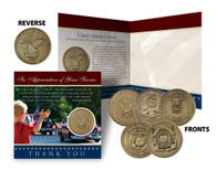 Thank You - Military Tribute Coin Card