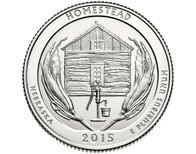 Homestead National Monument Quarter  D - 2015