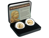 2011 Native American $ 2 Coin Set