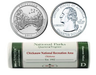 Chickasaw D Mint Quarter Roll