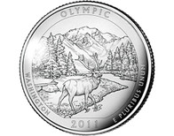 Washington Olympic National Park Quarter P- 2011