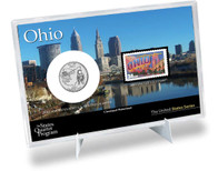 Ohio State Quarter & Stamp Set