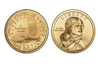 2001 Sacagawea P Mint Uncirculated Coin Roll
