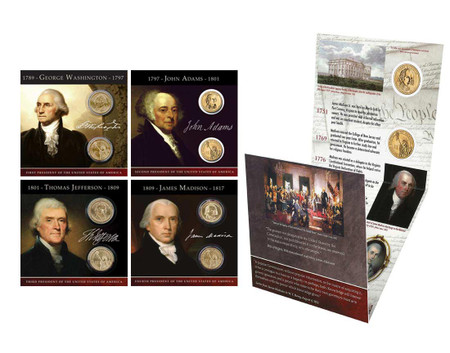 2007 Presidential $1 Coin Collection Annual Pack