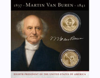 Martin Van Buren $1 Coin Collection