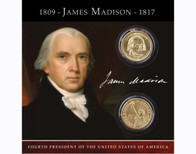 James Madison $1 Coin Collection