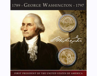 George Washington $1 Coin Collection
