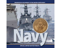 Navy Tribute Coin Card
