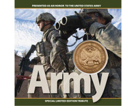 Army Tribute Coin Card