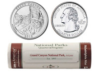 Grand Canyon P Mint Quarter Roll