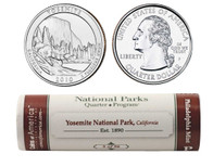 Yosemite P Mint Quarter Roll
